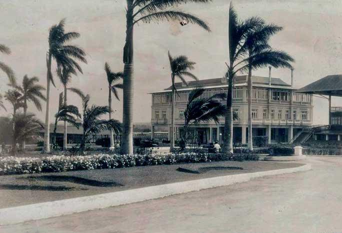 Oriental Park, Hipódromo de Marianao, casa principal.
