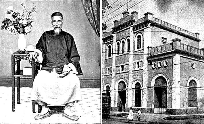 médico chino, raro ejemplo de chino comerciante