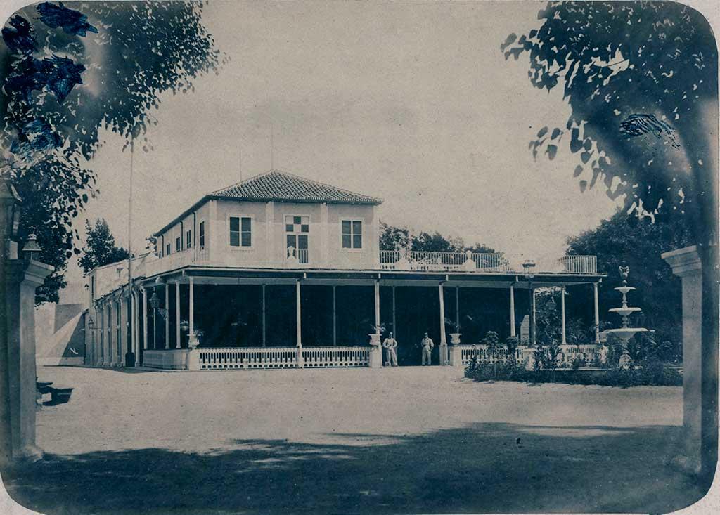 Quinta de Molinos, Habana.1860