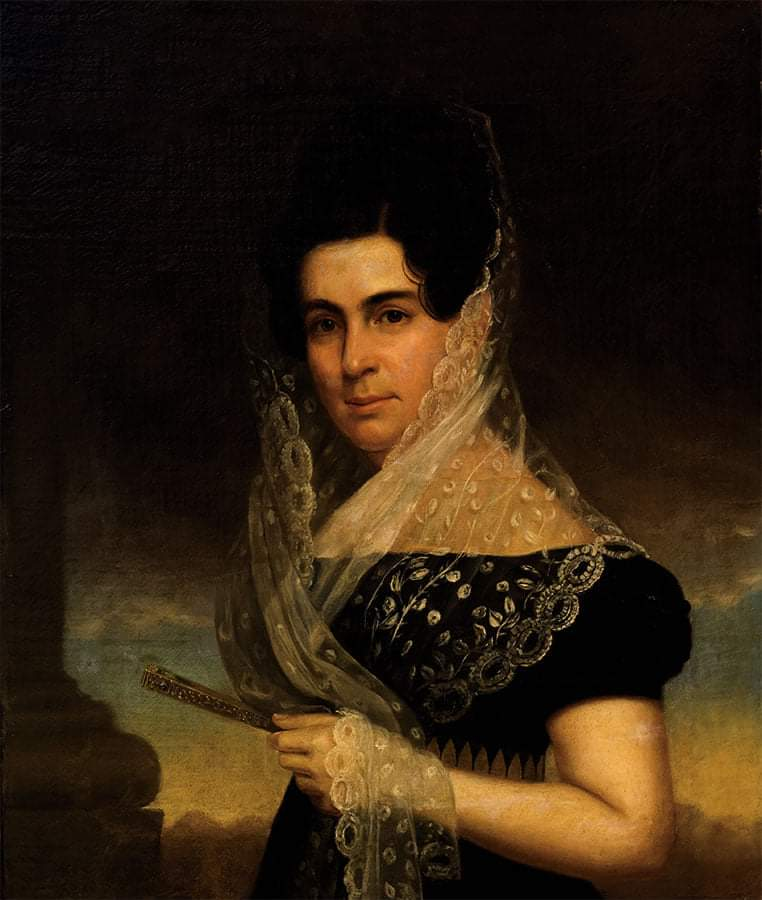 Retrato de Teresa Garro y Risel, Condesa de Fernandina Por Eliab Metcalf