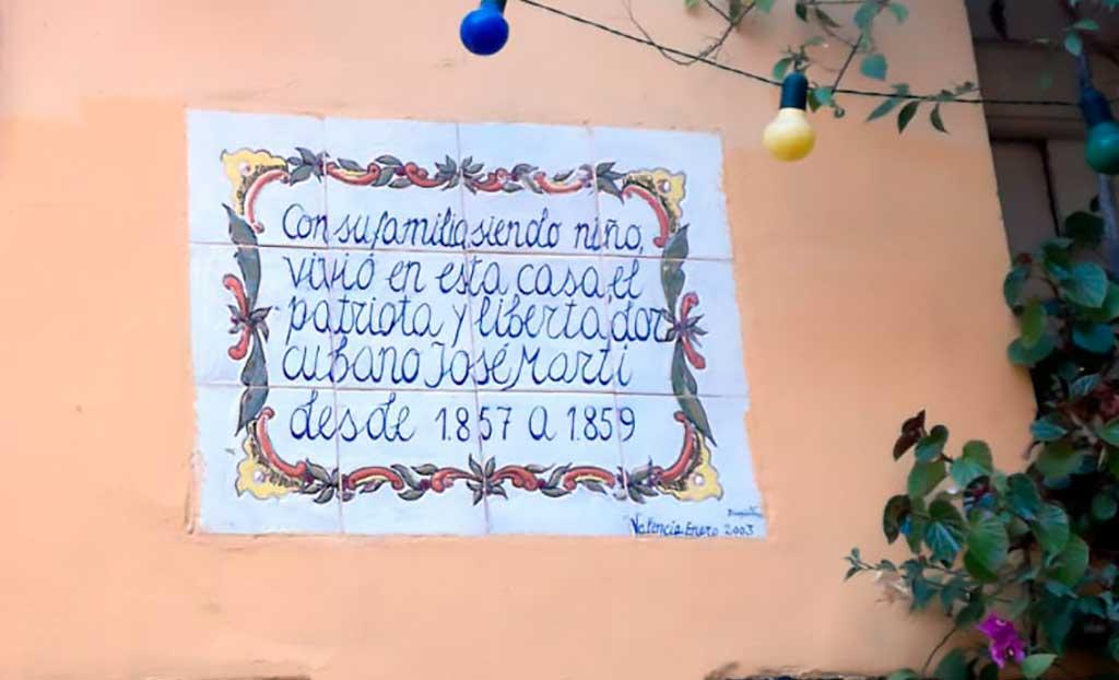 Casa Jose Marti en Valencia España