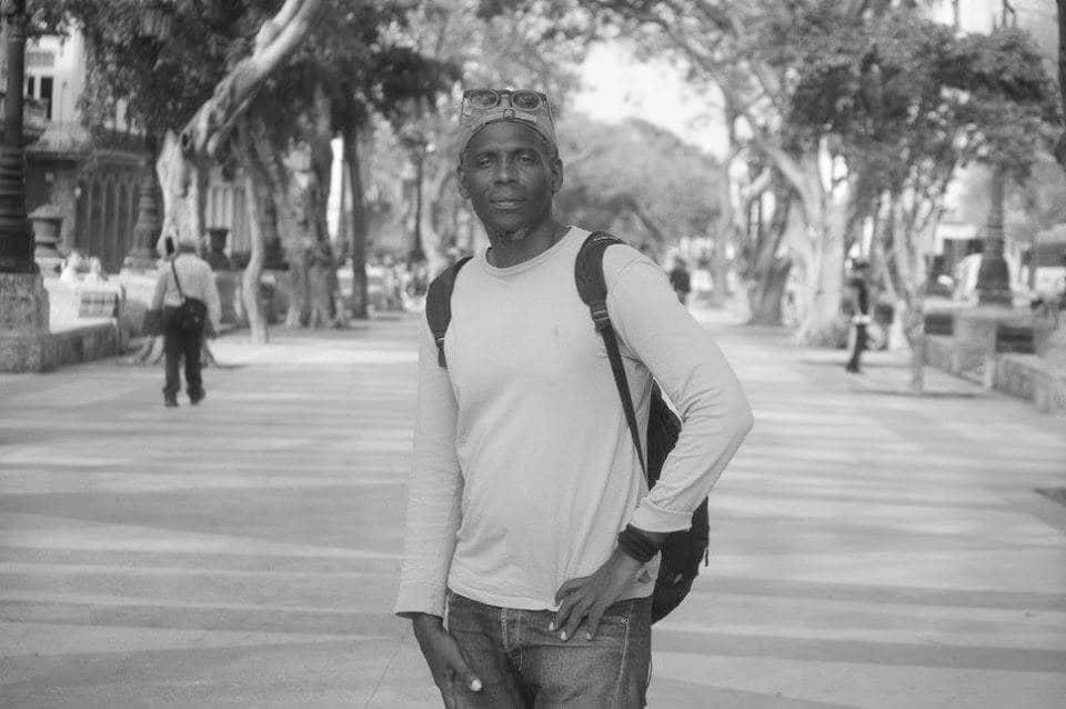 Marcial Gala en el Prado de La Habana