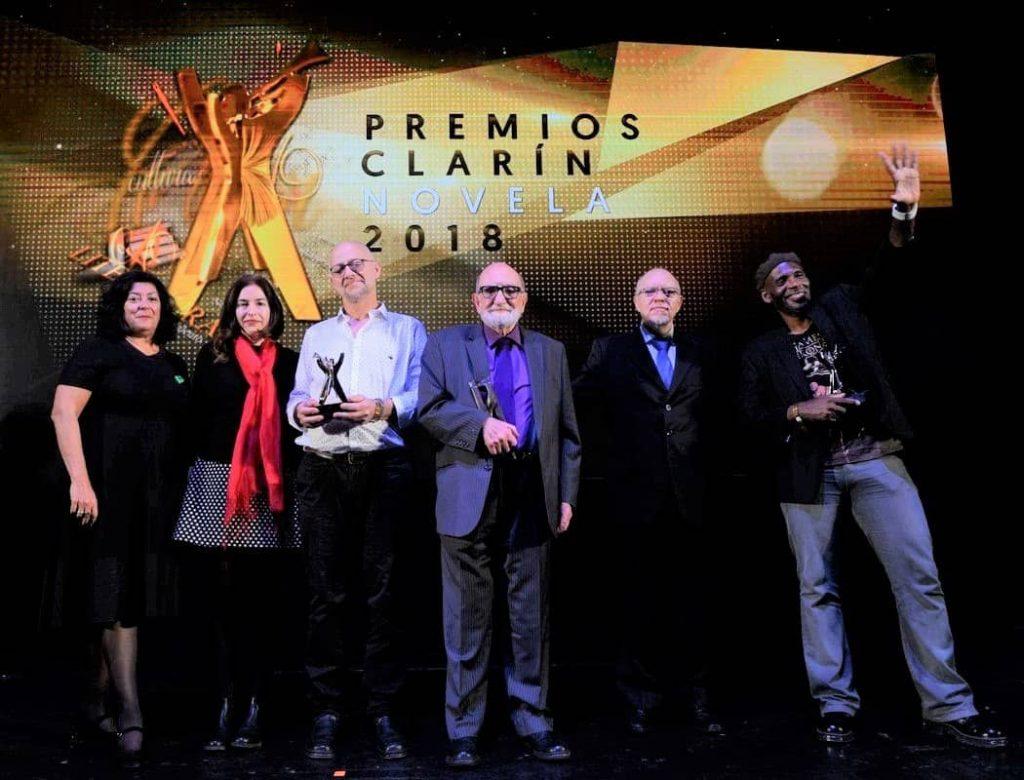 Marcial Gala en los Premios Clarín de Novela 2018