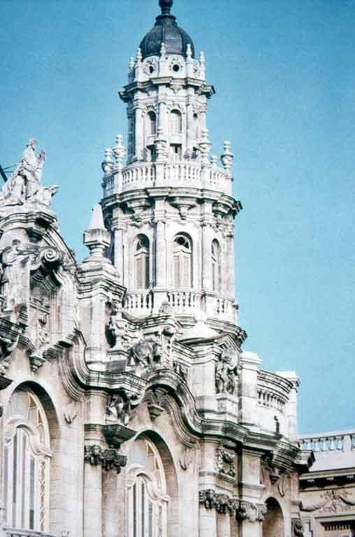 Centro Gallego de La Habana torre