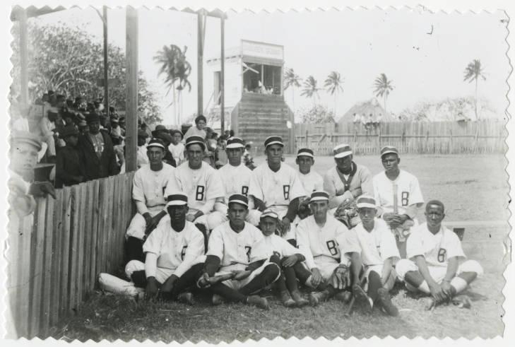 Baseball team. Batabano.1903