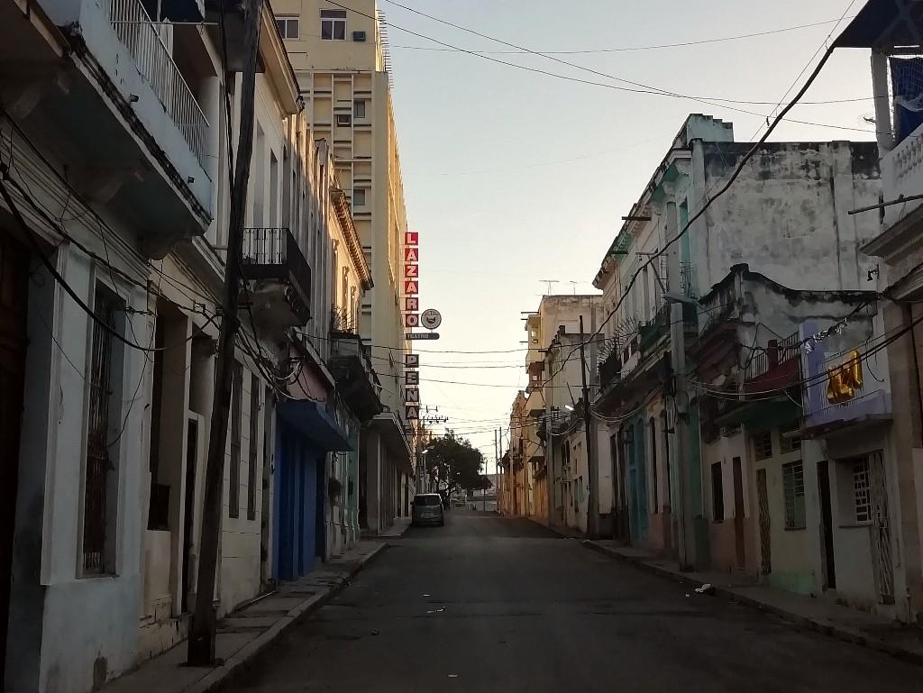 Calle Desague La Habana