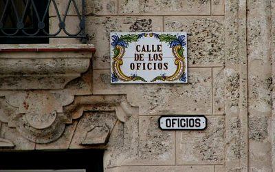 Calles de La Habana – 1935 año en que se regularon los nombres