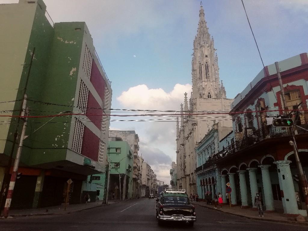 Calle Reina Habana Cuba