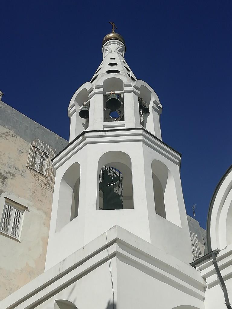 Campanario de la Iglesia Ortodoxa Rusa Nuestra Señora de Kazán en La Habana