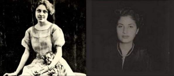 Chana Villalón (hija de José Ramón Villalón) y Ficu Menocal