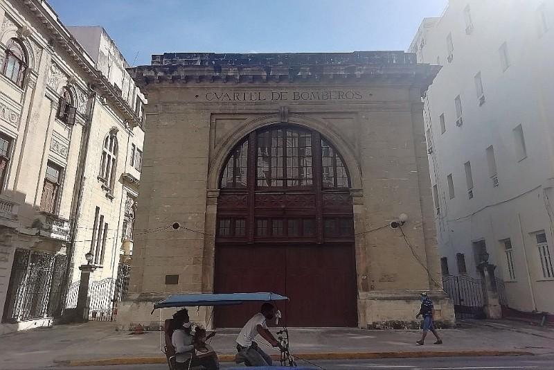 Cuartel de Bomberos Charles Magoon Calle Zulueta Habana