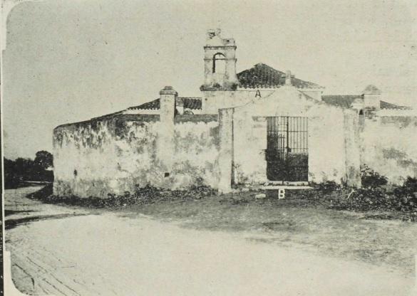Ermita del Potosí a inicios del siglo XX (Cementerio Viejo de Guanabacoa)