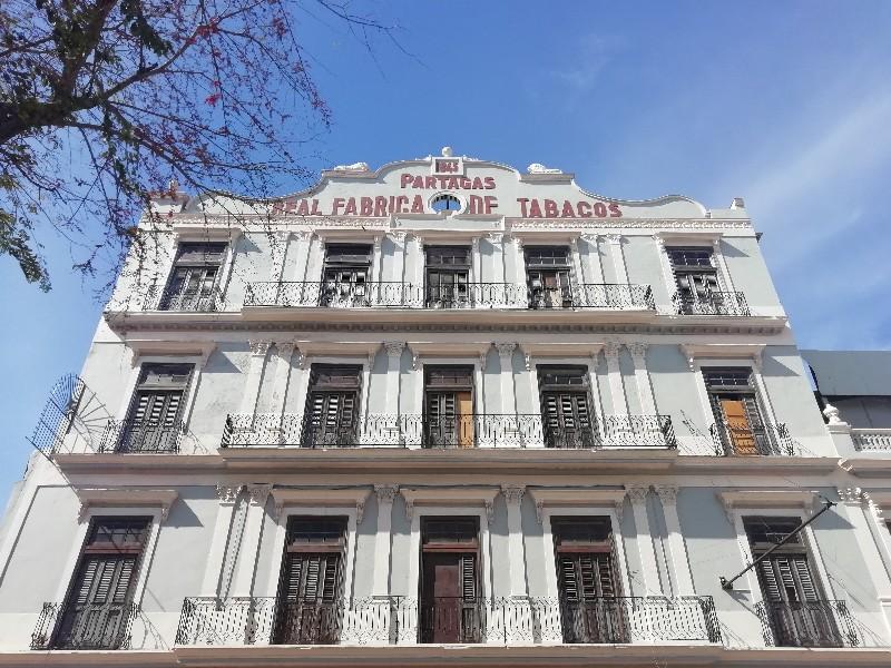Fabrica de Tabacos Partagas La Habana