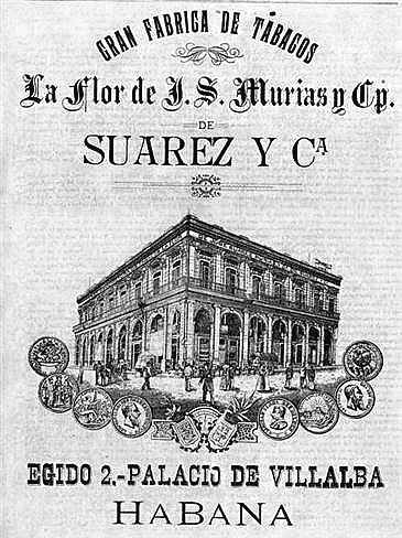Flor de Jose Murias Fabrica de Tabacos Palacio de Villalba