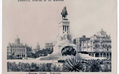 La estatua de Máximo Gómez, dicen que 20 años no son nada