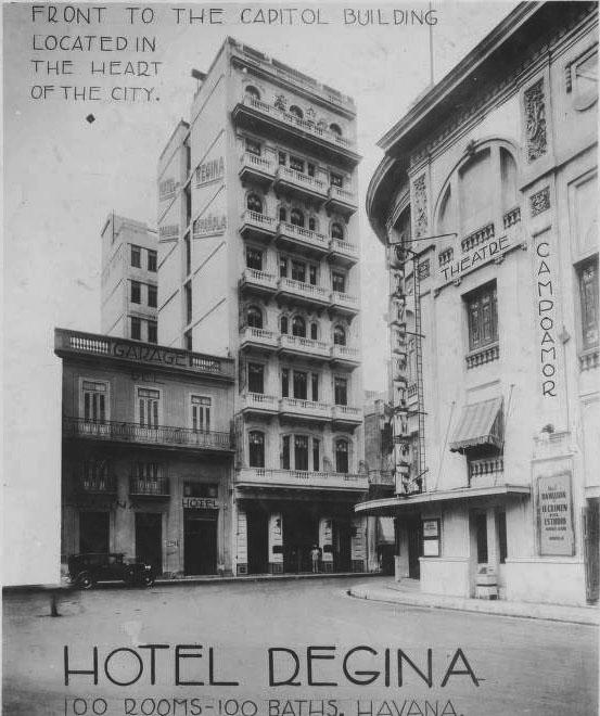 Teatro Campoamor y hotel Regina