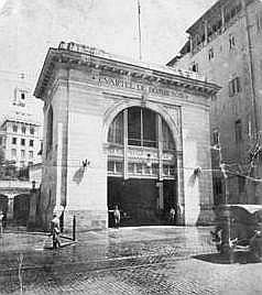 Cuartel de Bomberos Charles Magoon en la calle Zulueta (La Habana)