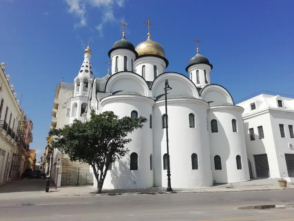Iglesia Ortodoxa Rusa de La Habana Nuestra Senora de Kazan