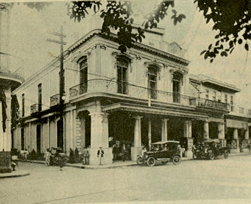 Tienda La Isla de Cuba en 1925