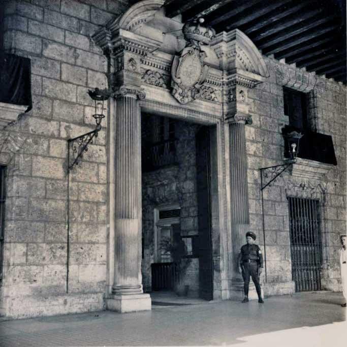 Palacio de Capitanes Generales siglo XX