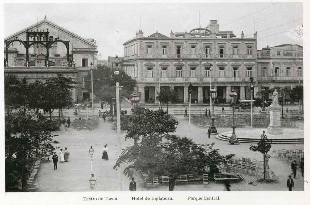 Parque Central. Teatro Tacon