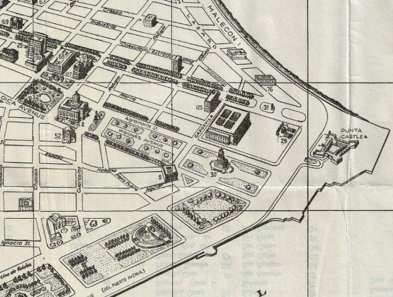 Plano estatua de Máximo Gómez 1935