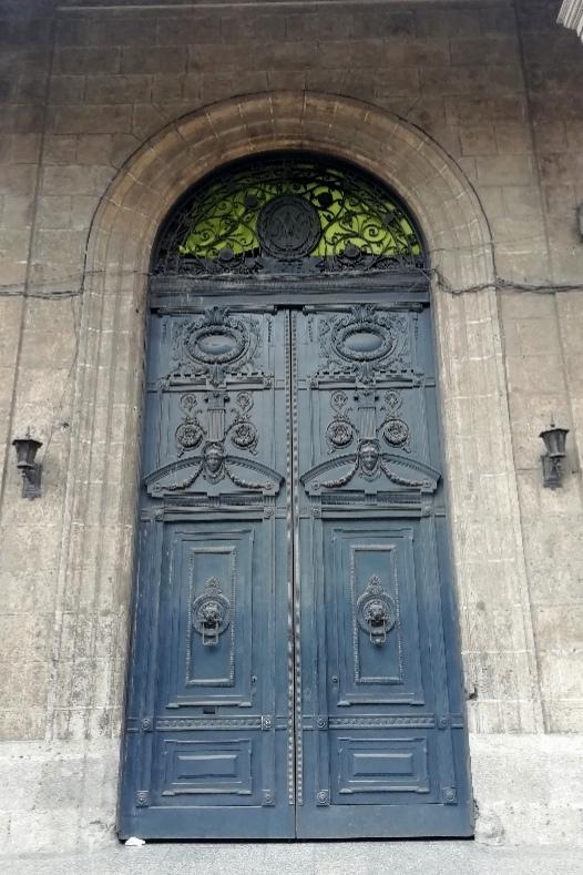 Puerta del Palacio de Villalba Calle Ejido Habana