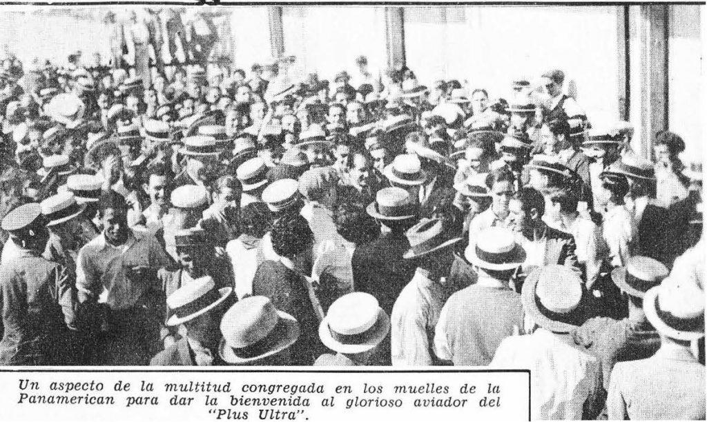 Ramón Franco en La Habana