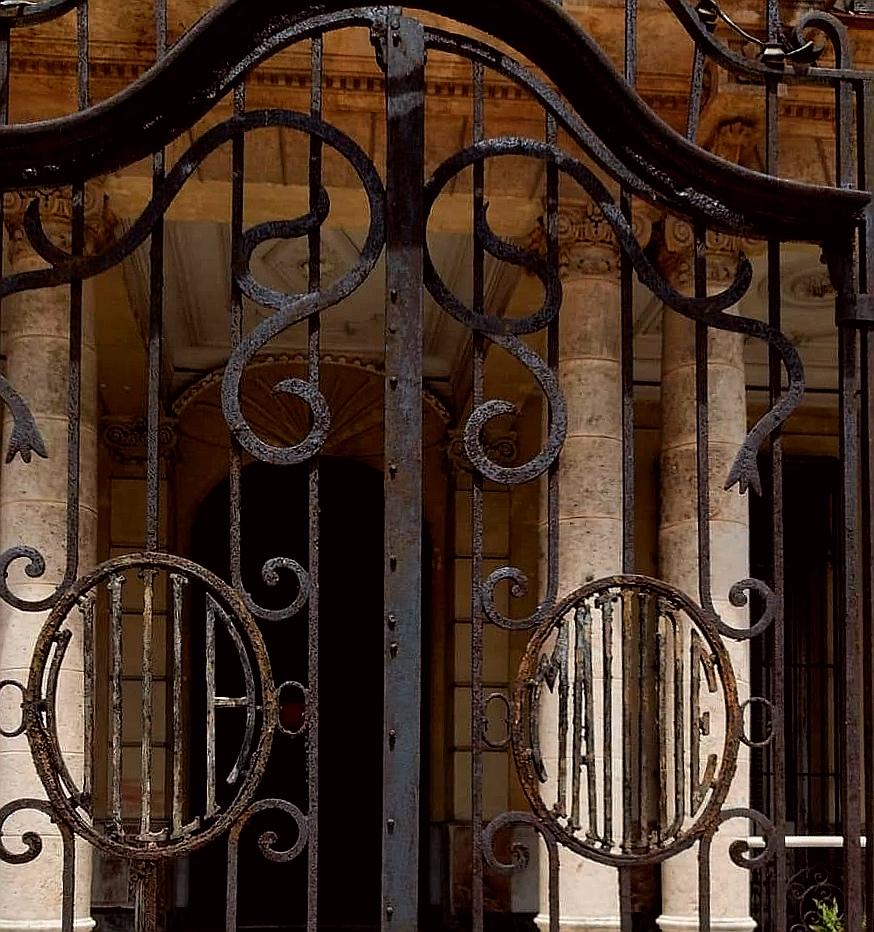 Reja Villa Matilde Habana Vedado
