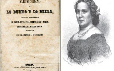 «Álbum cubano de lo bueno y lo bello» la revista que cambió la literatura cubana en solo 6 meses