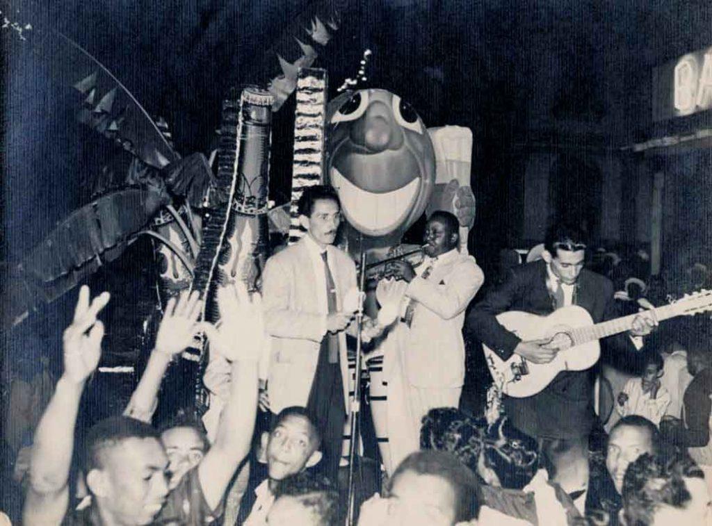 Chacumbeles se cantó en los carnavales habaneros por años.