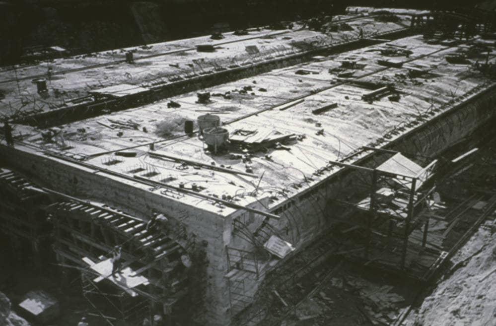 Construcción del túnel de La Habana