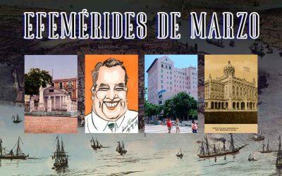 Efemérides de marzo – La Habana