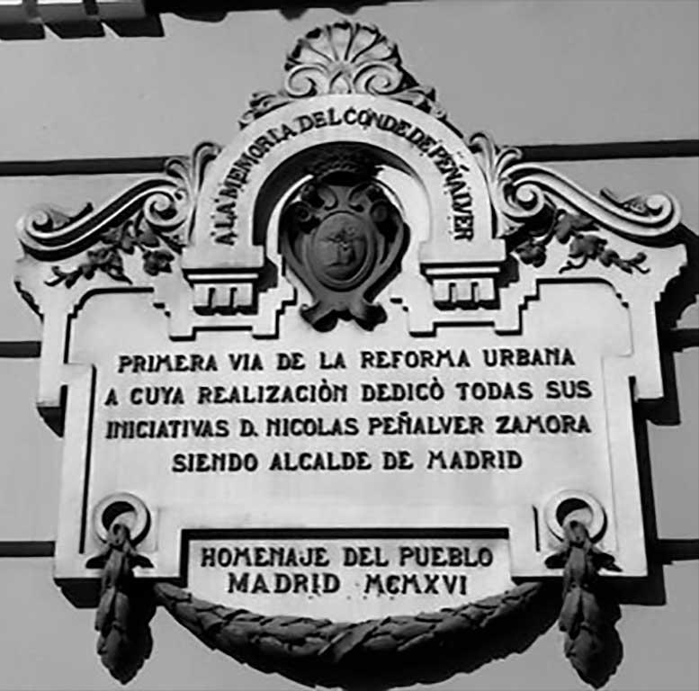Calle del Conde de Peñalver