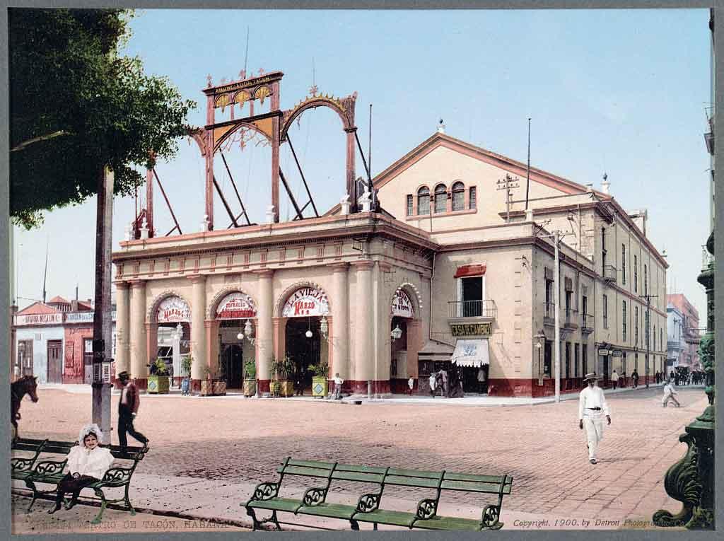 El Teatro Tacón, ejemplo de La Habana Ilustrada