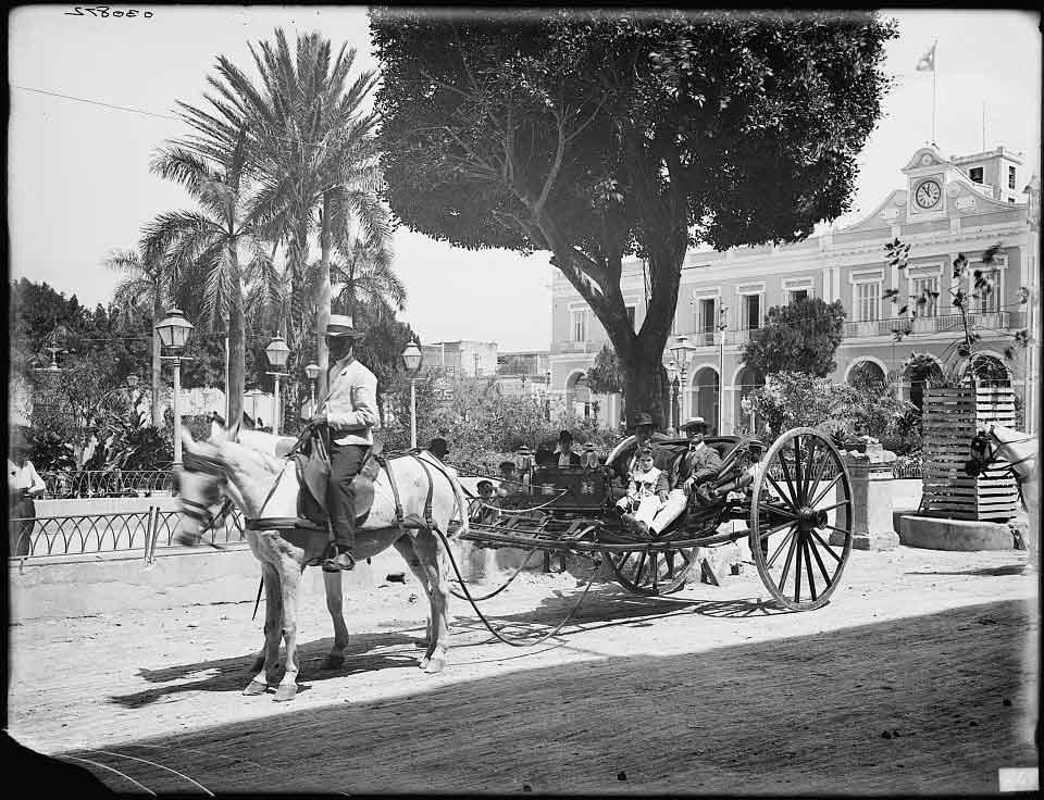 volanta plaza de armas 1900