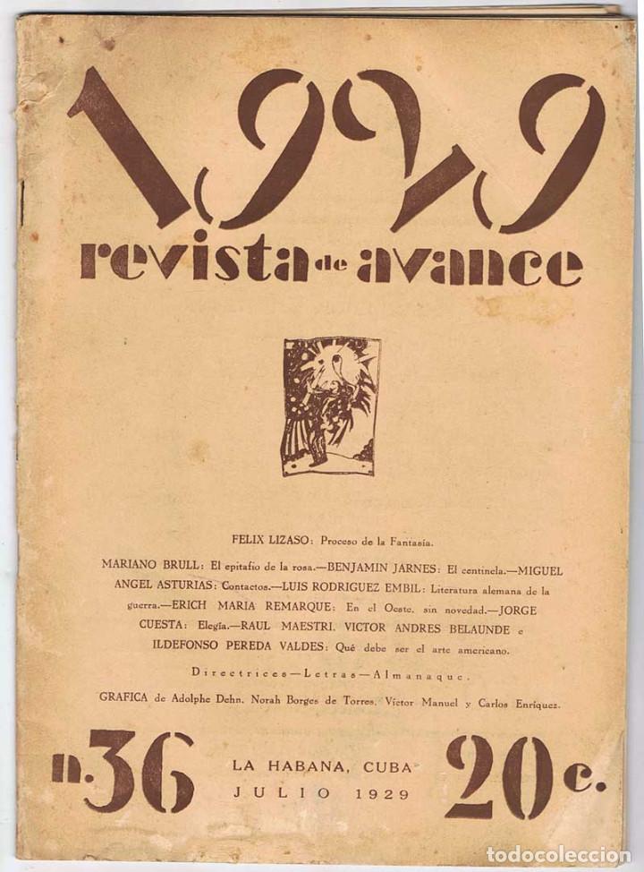 Juan Marinello Revista Avance
