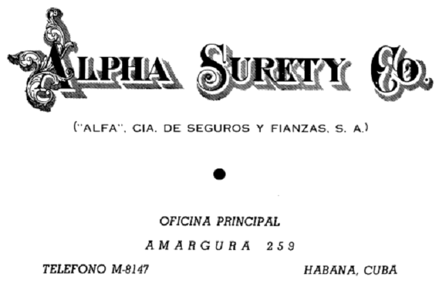 Alpha Surety Co Compania de Seguros
