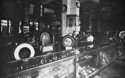 Andrés García: Reparación y vulcanización de neumáticos (antiguos comercios de La Habana)