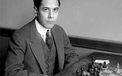 José Raúl Capablanca la máquina de jugar ajedrez
