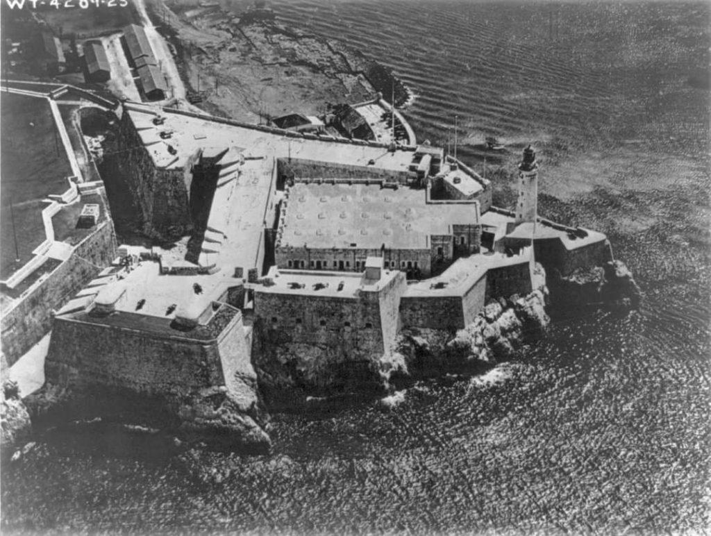 Castillo del Morro Vista aerea