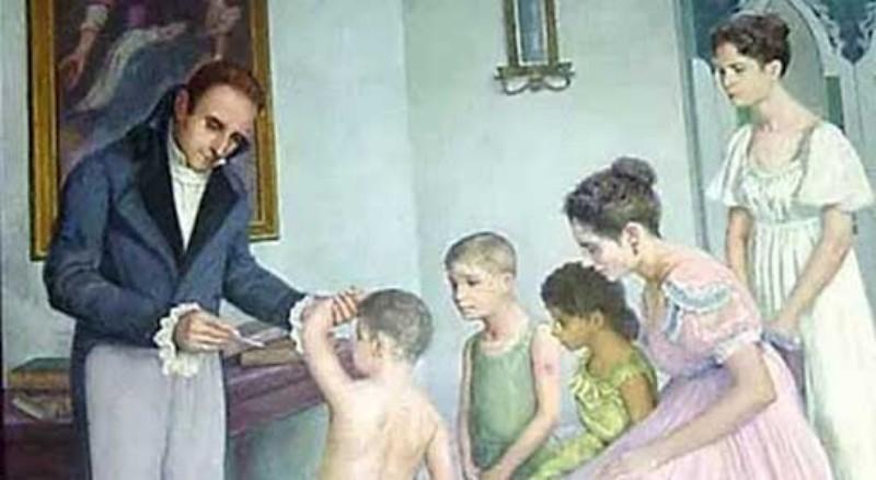 Tomas Romay Vacunado a sus hijos