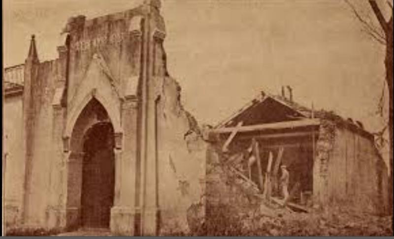 iglesia de Catalina de Guines ciclon del 26