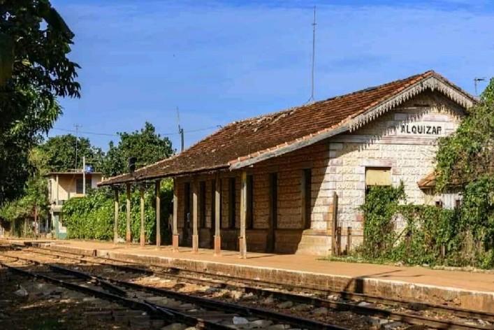 estacion de trenes de Alquizar