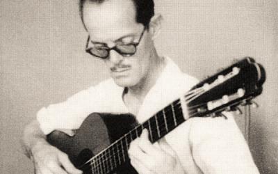 Isaac Nicola entre la guitarra y la docencia