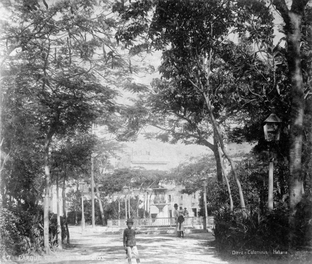 Parque de San Juan de Dios 1905
