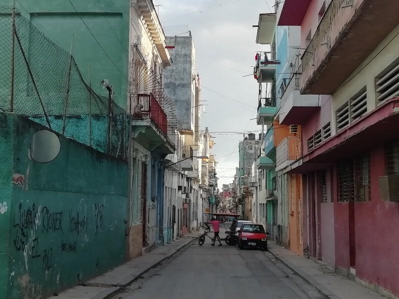 La calle Escobar vista desde San José