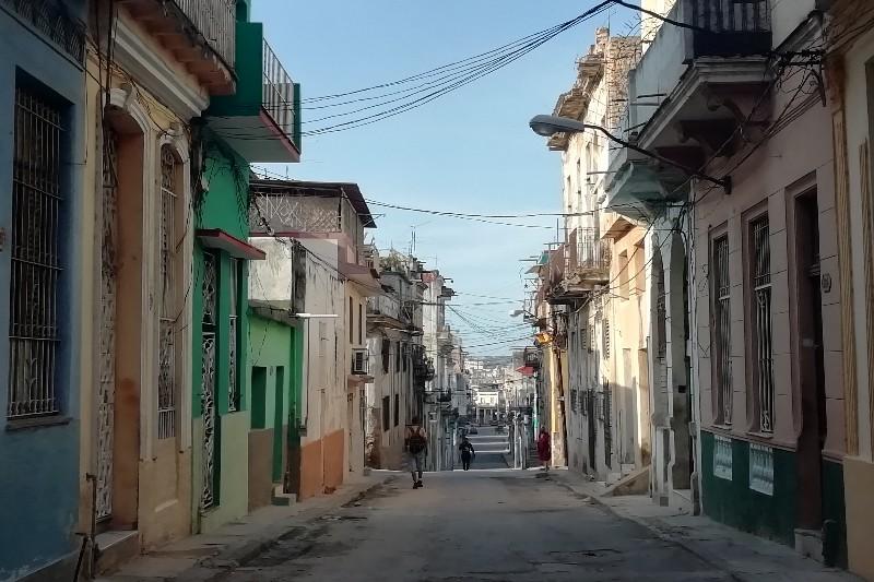 Calle Escobar Los Sitios La Habana