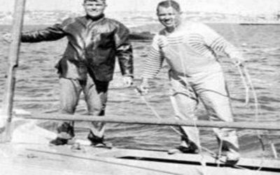 Carlos de Cárdenas Cumel e hijo la unica medalla olímpica de Cuba en yatismo