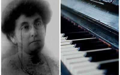 Cecilia Arizti la pianista del Ángel (+ 2 piezas)